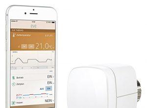Heizkörperthermostat mit Apple HomeKit-Unterstützung, Bluetooth Low Energy – Elgato Eve Thermo Vorgängermodell