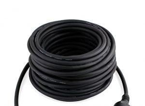 SIMBR Schuko Verlängerungskabel Gummi Kabel für den Außenbereich IP44 H07RN-F 3G 1,5mm 20m