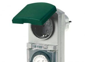 REV Ritter 0025700409 Z-Uhr mechanisch Tag IP44, grau / grün