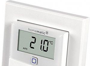 Homematic IP Wandthermostat mit Luftfeuchtigkeitssensor, 143159A0