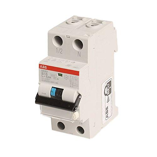PK FI-Schutzschalter ABB-DS201A-B16/0,03 2-polig, 230 V, 16 A, grau, 2CSR255140R1165