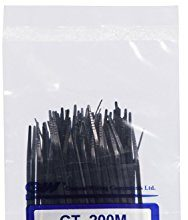 GW Kabelbinder-Technik, Kabelbinder 202 x 2,5 mm, schwarz, 1000 Stück, GT-200MB