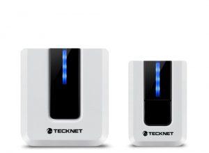 TECKNET TeckNet Schnurlose Türklingel, Wandstecker, Funk-Türklingel Plug-Type G UK