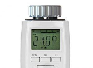 Weiß – Eurotronic Comet DECT Heizkörperthermostat / Thermostat mit Internetzugang – kompatibel mit AVM FRITZ!Box / App gesteuertes Heizungsthermostat