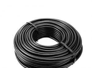 Waskönig+Walter Erdkabel PVC schwarz NYY-J 5×1,5 Ring 50m zur Verlegung im Freien, Erdreich