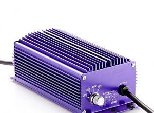Lumatek 400 W elektrisches Vorschaltgerät EVG, 4 Stufen regelbar, dimmbar