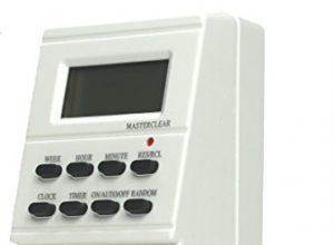 Schwabe  Zeitschaltuhr mit Steckdose, digital, mit Wochenprogramm und Zufallsfunktion 24032 – as