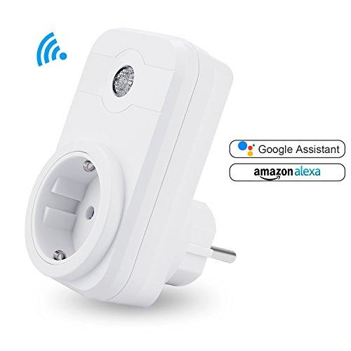 WiFi Smart Steckdose, Gintenco Smart Socket Ferngesteuerte Steckdose ...