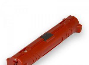 für einfaches und schnelles Abisolieren aller gängigen Koaxial-Kabel – Abisolierer für Koaxialkabel rot