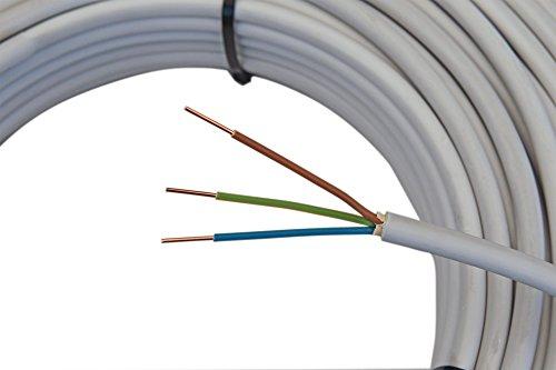 mantelleitung nym j 3 2 5mm kabel 50m 3 adriges. Black Bedroom Furniture Sets. Home Design Ideas