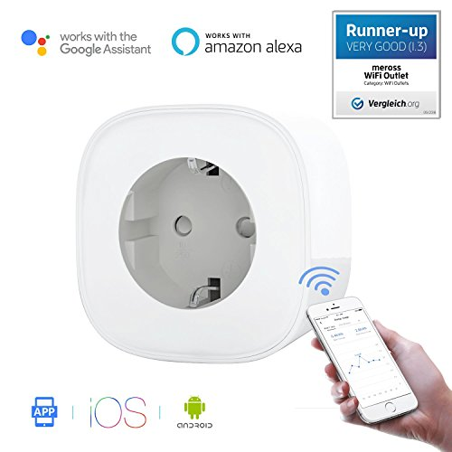 Meross Intelligente WLAN Steckdose Smart Steckdose Smart Wi-Fi Plug