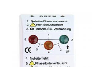 REV Ritter Steckdosen-Tester, weiß, 0037409012