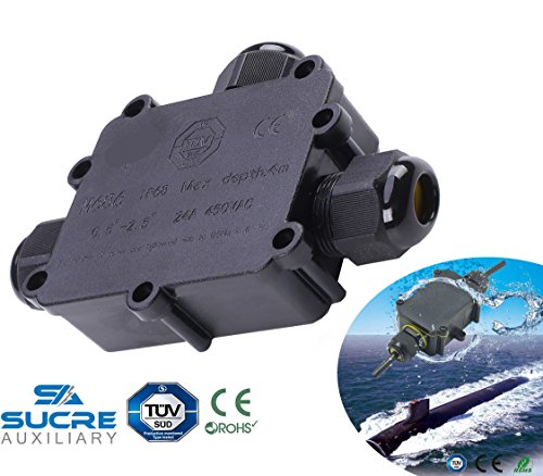 Sucre AUX® 24 A 450 V 5 Wege IP68 Wasserdicht Elektrisches Kabel ...