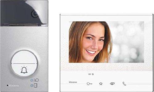 344612 wei/ß Legrand H/örerlose Video-Hausstation AP 2-D Klasse 300 V13B 7 Zoll LCD-Touchscreen