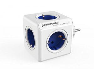 Allocacoc PowerCube Original blau Type F für Extended Cubes