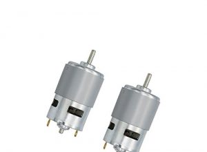 Sharplace 2pcs 775 DC 12V 12000rpm Micro Motor Großes Drehmoment Kugellager Power Tools Kit