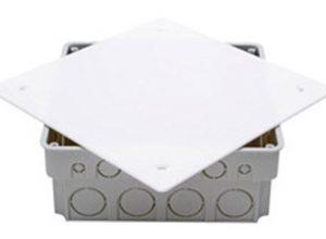 Kopp 356103006 Abzweigkasten Isolierstoff, mit Deckel Unterputz, 150 x 150 x 50 mm