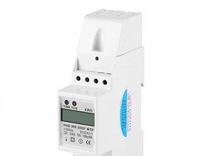 XTM35SA Energy Meter Digital LCD Einphasig 2 Draht KWh Meter DIN-Schiene Stromzähler 10 40 A