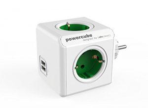 Allocacoc PowerCube Orginal USB Grün 4xSteckdose 2xUSB 5737