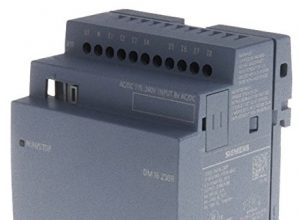 Siemens stlogoErweiterungsmodul dm16230r pu/i/o, 230V/rele