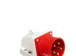PC-Electric PCE5256 CEE-Wandgerätestecker, 32 A, 5-polig