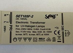 105 VA Watt Transformator elektronisch – 2 35 – SELF Halogen Trafo 105VA SET 105 F