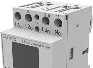 Modul Schiene DIN Smart Meter triphasé Z-Wave mehr für Lage Energie–qubino