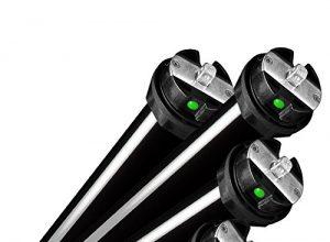 NOBILY *** Elektronischer Maxi-Rolladenmotor PE5 20/15-60 mit elektronischen Endabschaltern Zugkraft 20Nm/50kg für 60mm Achkantwelle SW60 Rolladenantrieb Rohrmotor