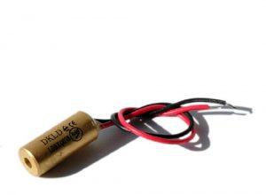 70103984 – Laser Lasermodul Punktlaser rot 650nm 1mW 3-12VDC