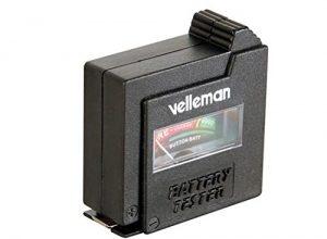 Velleman BATTEST Batterietester- Taschenformat, 1 W, 1 V