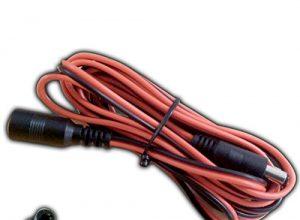 Verlängerung 3 Meter Kupplung 5,5 x 2,1 300cm Anschlußkabel Buchse Stecker Verlängerungskabel für Strips, Streifen, Sensoren uvm.