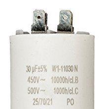 Anlaufkondensator Betriebskondensator 30uF 30µF mit STECKER Motorkondensator
