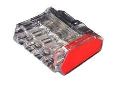 ViD 2473-204 Verbindungsklemmen/Steckklemmen rot 1,0 – 2,5 mm² 100 Stück