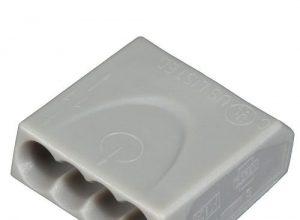2,5 mm² 100 Stück – ViD C1004251 Verbindungsklemmen/Steckklemmen grau 0,5