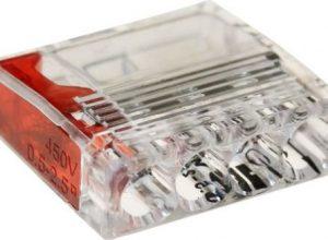 ViD 2073-204 Verbindungsklemmen/Steckklemmen rot 0,5 – 2,5 mm² 100 Stück