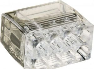 ViD 2073-208 Verbindungsklemme/Steckklemme grau 8 x 0,5-2,5 mm² – 50 Stück