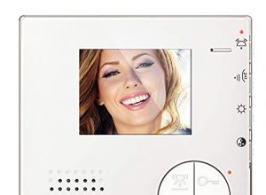 Legrand, Flex ONE 2-Draht Videosprechanlagen Set, Classe 100 V12E mit 4.3″ LCD-Monitor, 105° Weitwinkel Kamera, IP54, IK10, 363411