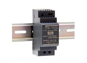 Mean Well HDR-30-12 Netzteil-1 Ausgang-30 W-Hutschienenmontage-12 V 2 A-Für Industrielle Anwendung