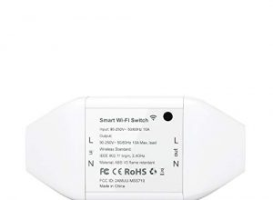 Meross WLAN Schalter Universal Smart WiFi Switch Fernbedienung Sprachsteuerung mit Amazon Alexa, Google Assistant und IFTTT, DIY Smart Home für elektrische Haushaltsgeräte, MSS710