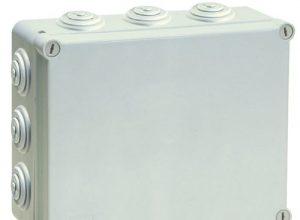 Kunststoffgehäuse Installationsgehäuse Leergehäuse Industriegehäuse 300x220x120mm, Verteilerkasten, Abzweigdose, Schaltschrank JS7420