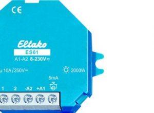 Eltako 2000559 Stromstoss-Schalter, ES61-UC, Blau, Weiß