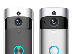 Xixini Wireless Remote Überwachung für Zuhause RIP Motion Detection Smart WiFi Video Doorbell