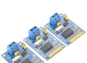 XCSOURCE 3 Stück MCP2515 CAN Bus Modul TJA1050 Empfänger SPI für Arduino 51 MCU ARM Steuerung Entwicklung Board TE534