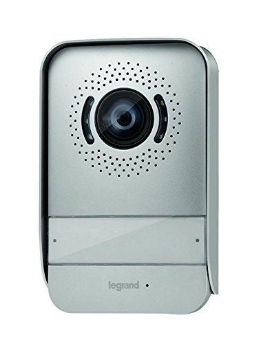 Legrand, Video-Außenstelle in Farbe mit 2-Drahttechnik zur Erweiterung der LegrandVideo-Sprechanlagensets, 369339