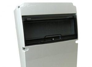 Stromverteiler IP66 11 Module Verteilerkasten Feuchtraumverteiler Sicherungskasten Aufputz TpElectric 0011