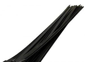 Schwarz Kabelbinder Extra lange Krawatten 9mm x 550mm Schwerlast Zip 10 Stück