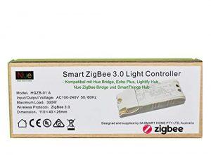 Smart ZigBee Lichtschalter in der Decke oder in der Wand installiert für Echo Plus, SmartThings, Lightify Hub zur Steuerung normaler Lichter mit Alexa Google Voice Control