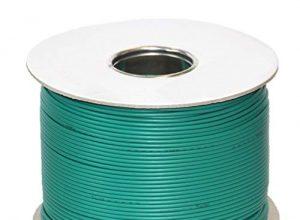 genisys Worx Landroid komp. Kabel Mähroboter Begrenzung Draht   HQ Kupfer   auf der Kabelrolle   Ø2,7mm, Länge:100m