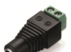 Adapter DC-Hohlstecker-Buchse 5,5 x 2,5 mm / zweipoliger Terminal-Block