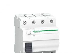 Schneider A9Z01440 Fehlerstrom-Schutzschalter ID K, 4P, 40A, 30mA, Typ A, Weiß